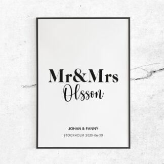 Mr/s & Mr/s